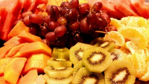 Sliced Fruit platter 1